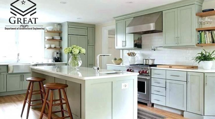 انتخاب رنگ کابینت آشپزخانه در سال ۲۰۲۰