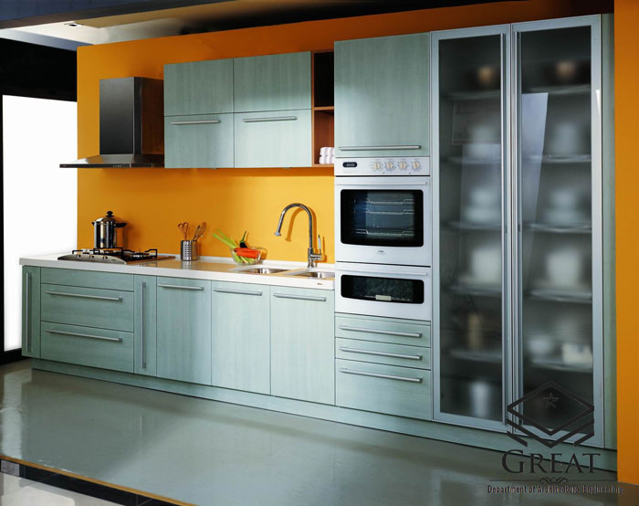 کابینت آشپزخانه پی وی سی - تصویر یک