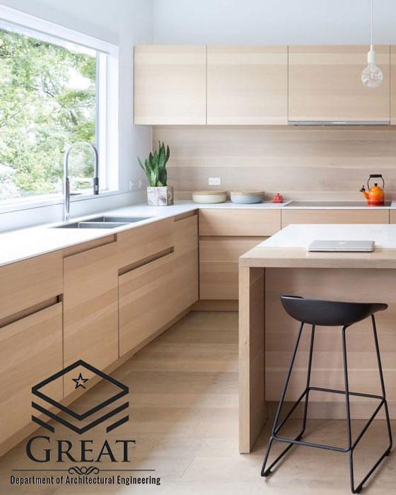 کابینت چوبی مدرن - تصویر سه