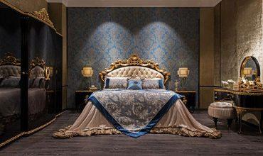 تخت چوبی لوکس برای اتاق خواب شما