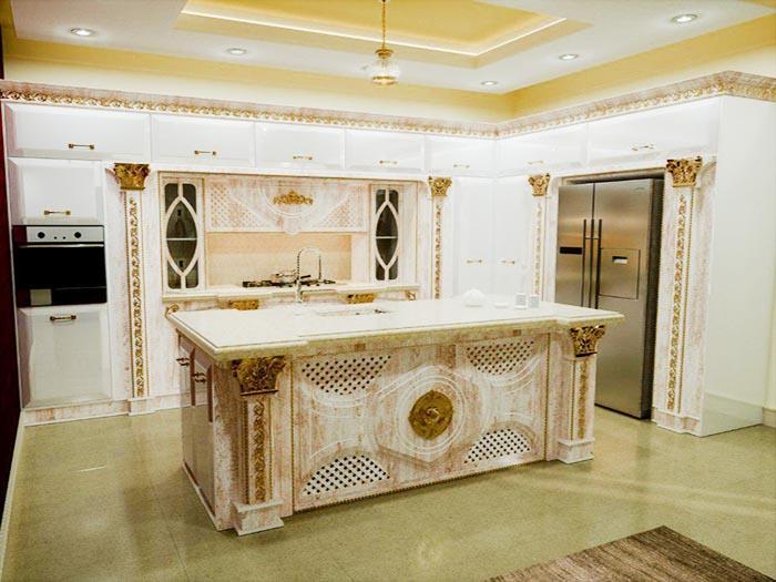 کابینت آشپزخانه جواهر اختصاصی از گریت