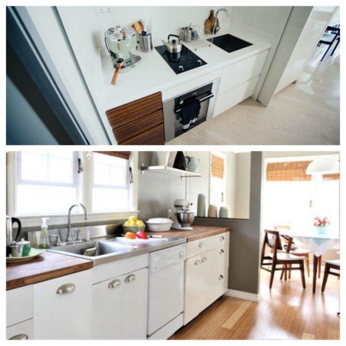 مراقبت ، تمیز کاری و نگهداری کابینت آشپزخانه ترموفیل سفید
