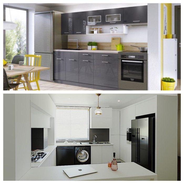 مراقبت ، تمیز کاری و نگهداری کابینت آشپزخانه مدرن