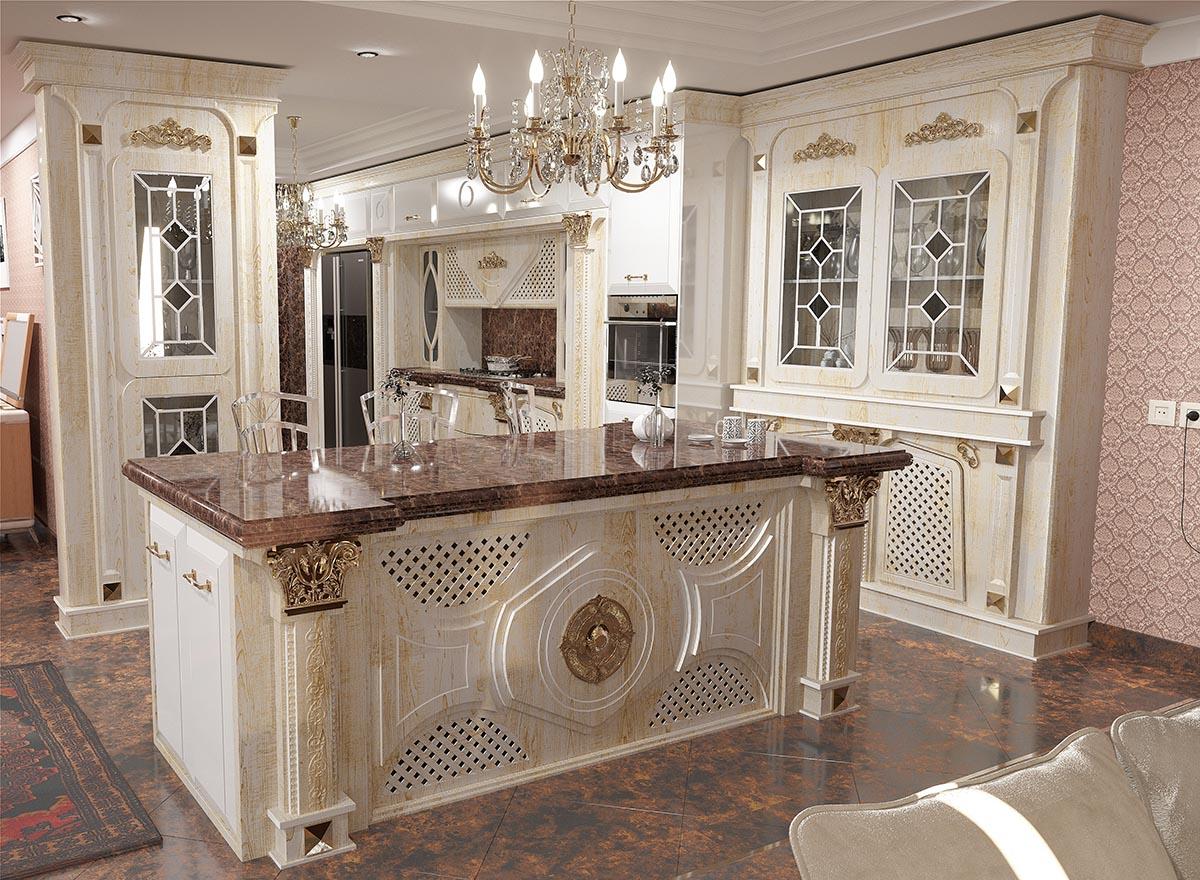 کابینت آشپزخانه جواهر
