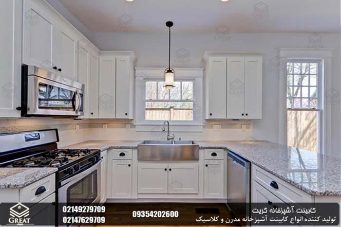 تقارن در طراحی کابینت آشپزخانه 5