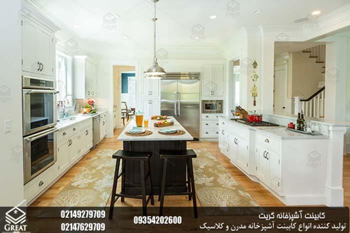 تقارن در طراحی کابینت آشپزخانه 2