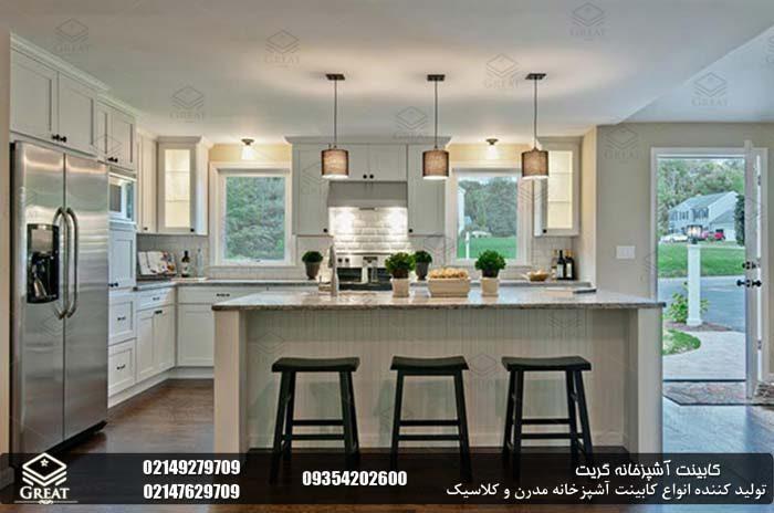 تقارن در طراحی کابینت آشپزخانه 4