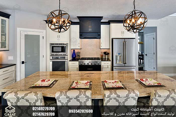 نقاط کانونی در طراحی کابینت آشپزخانه