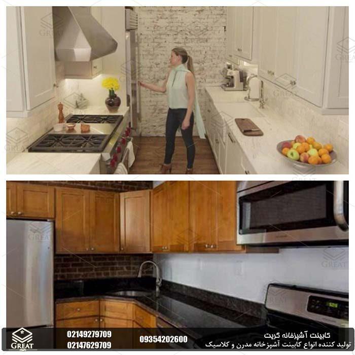 طراحی کابینت آشپزخانه از منظر نسبت و مقیاس