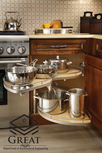 کابینت آشپزخانه با ایده جدید