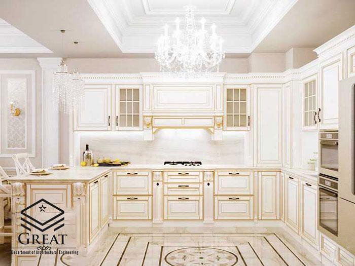 بهترین ترکیب رنگی کابینت آشپزخانه