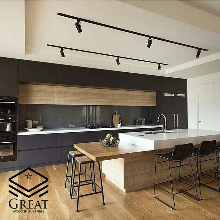 تفاوت آشپزخانه سنتی و مدرن - تصویر یک