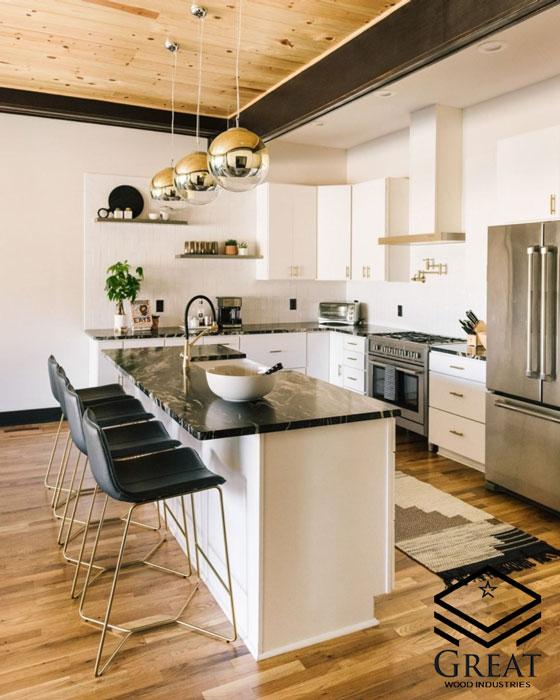 چه کابینتی برای آشپزخانه شما مناسب می باشد؟ - تصویر یک