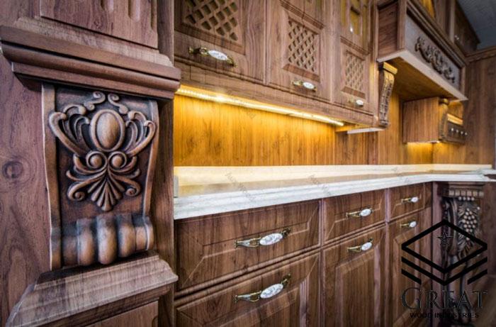 چه کابینتی برای آشپزخانه شما مناسب می باشد؟ - تصویر چهار