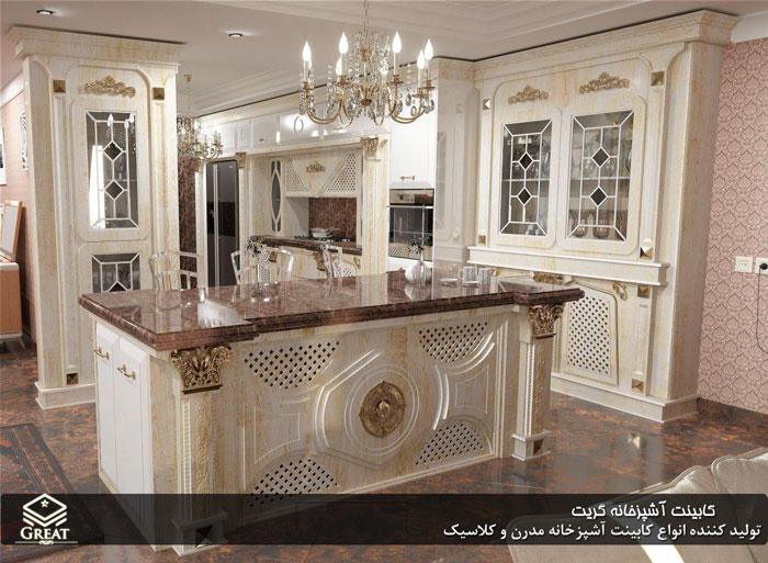 کابینت آشپزخانه خاص جواهر | اختصاصی