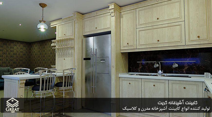 نمونه کار – کابینت آشپزخانه ممبران | آقای نوروزی