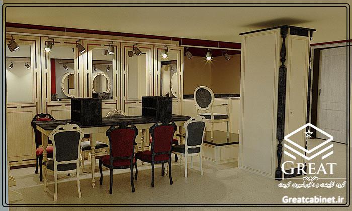 دکوراسیون داخلی | آرایشگاه زنانه تصویر اول