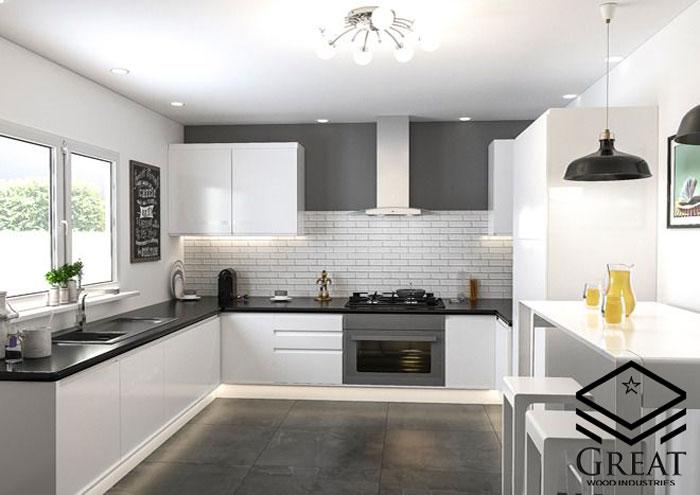 انتخاب کابینت آشپزخانه هایگلاس خوب - تصویر یک