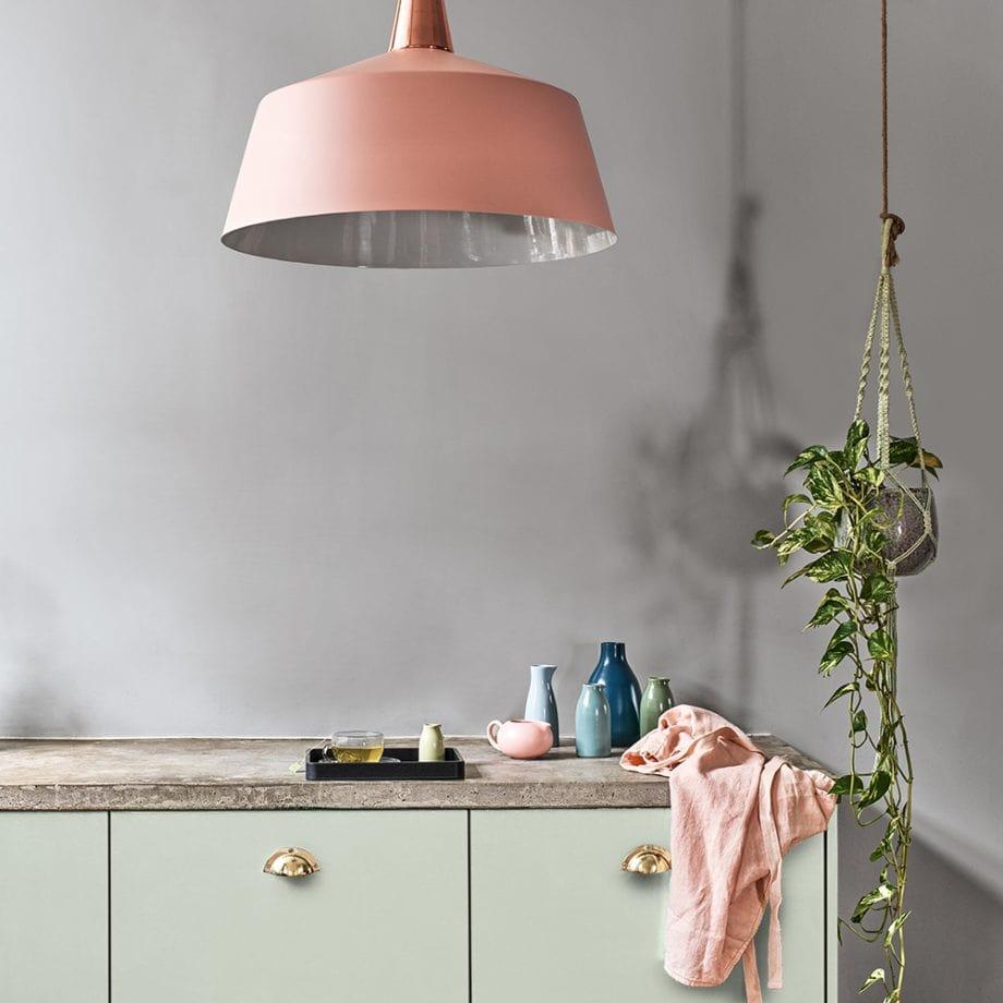 دکوراسیون آشپزخانه رنگ خاستری 1