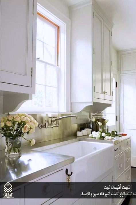 انواع صفحه در کابینت آشپزخانه تصویر اول