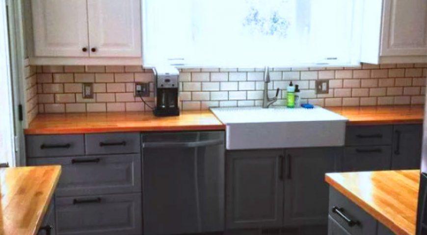 انواع صفحه در کابینت آشپزخانه