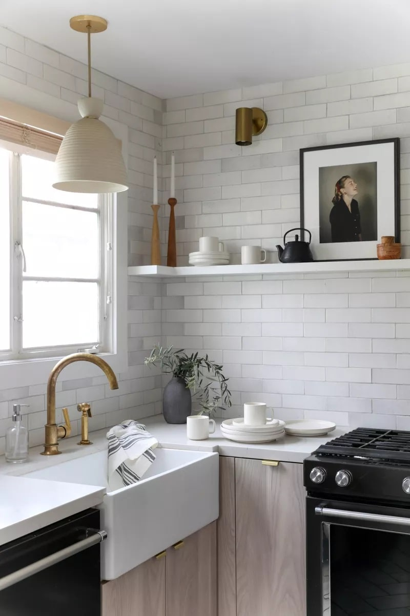 تزئین پیشخوان آشپزخانه