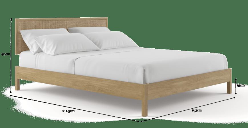 آیا تخت خواب کویین برای دو نفر کافی است؟