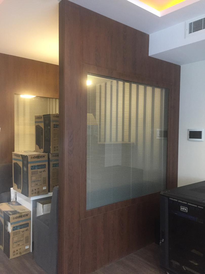 طراحی دفتر اداری توسط گریت کابینت