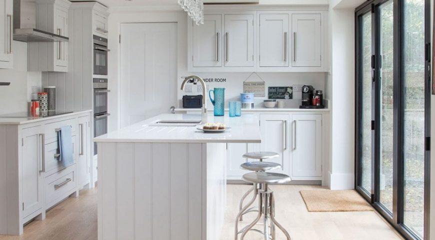 دکوراسیون آشپزخانه رنگ سفید | بخش دوم
