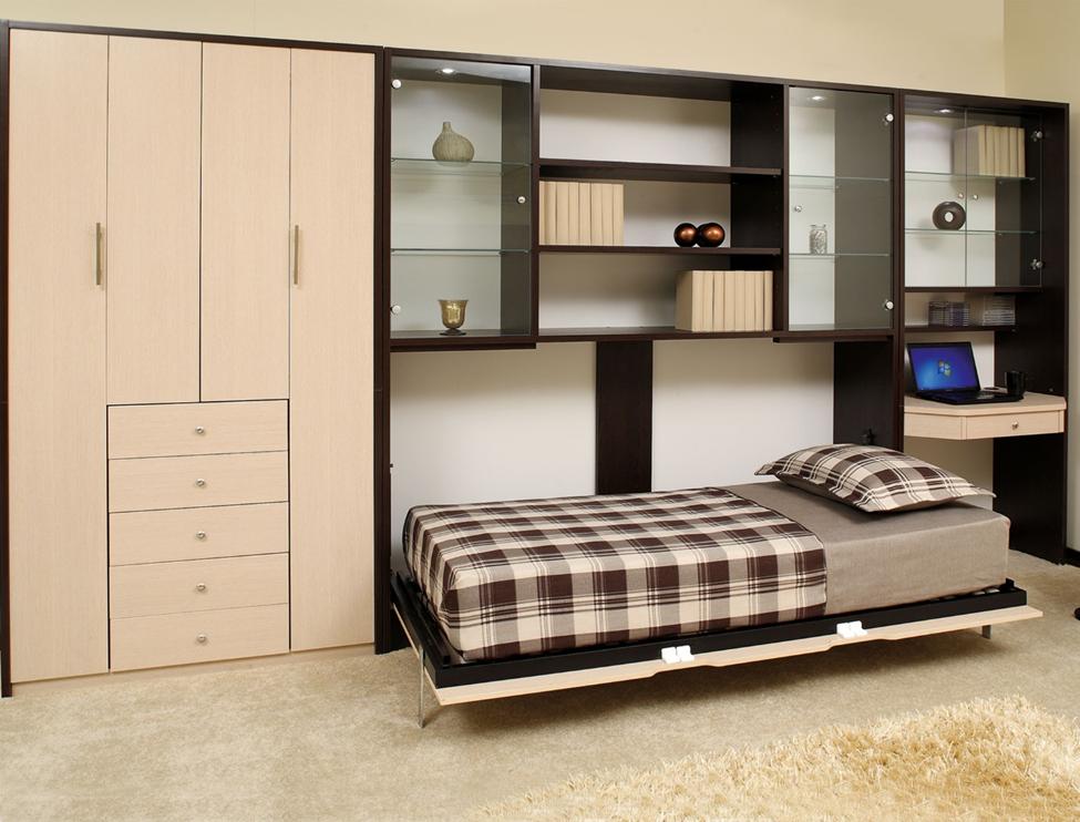 قرار دادن تخت کم جا برای مهمان در خانه هایی بدون فضای کافی
