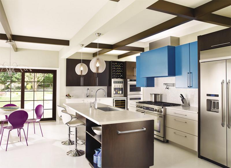 ۲۰ آشپزخانه و کابینت آشپزخانه مدرن