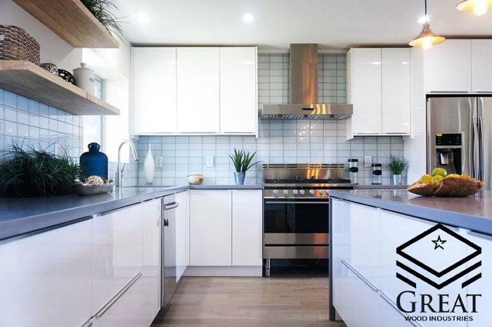 طراحی آشپزخانه نئو کلاسیک