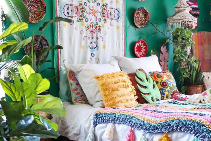 ۴ رنگ اتاق خواب برای شادی و افزایش هورمون سروتونین