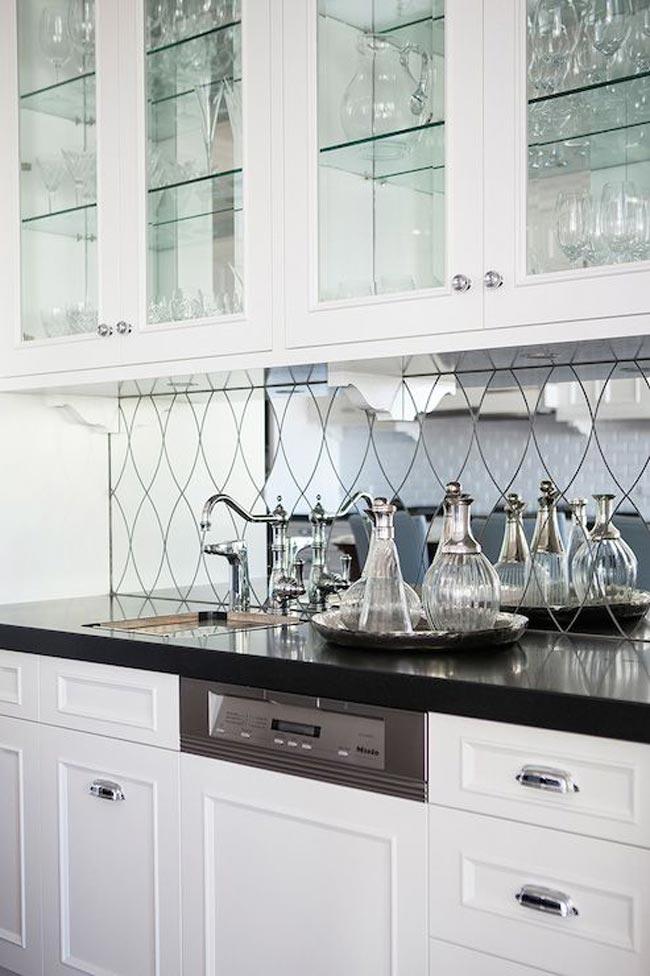 آینه کاری آشپزخانه