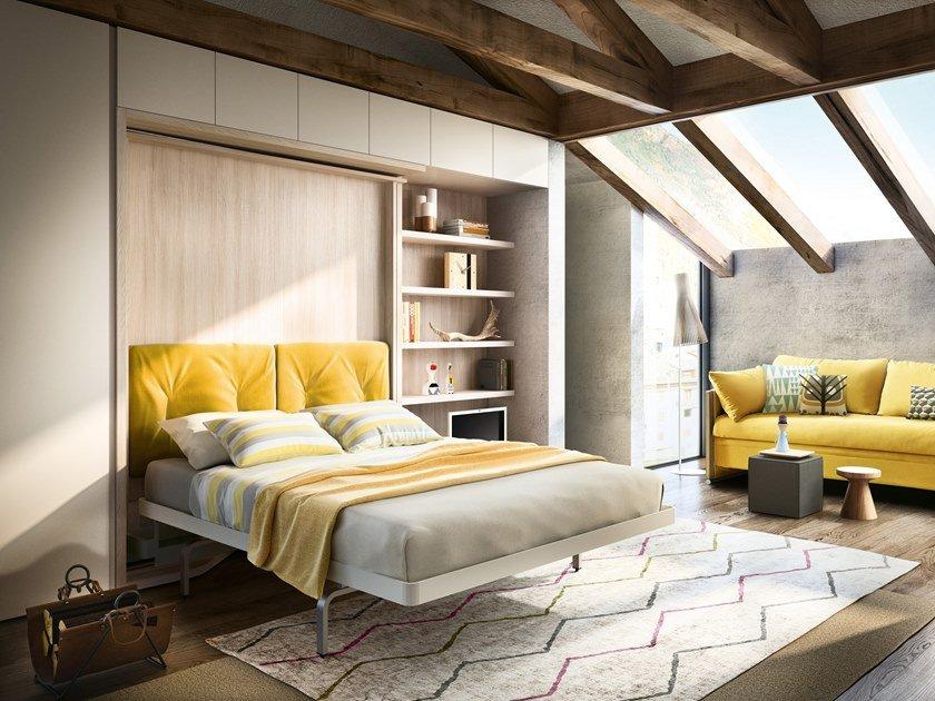 تخت کم جا در دکوراسیون طلایی