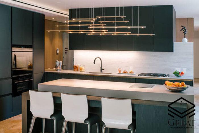 انواع چراغ در آشپزخانه