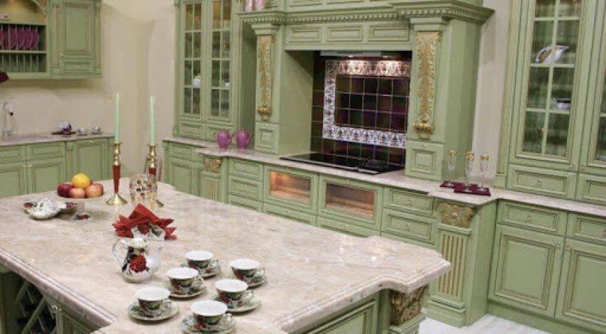 کابینت اشپزخانه کلاسیک