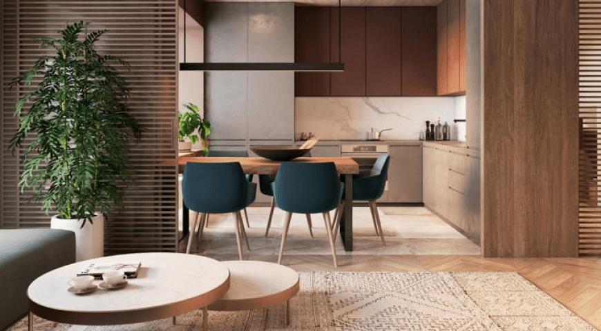 کابینت چوب طبیعی مناسب آشپزخانه است؟