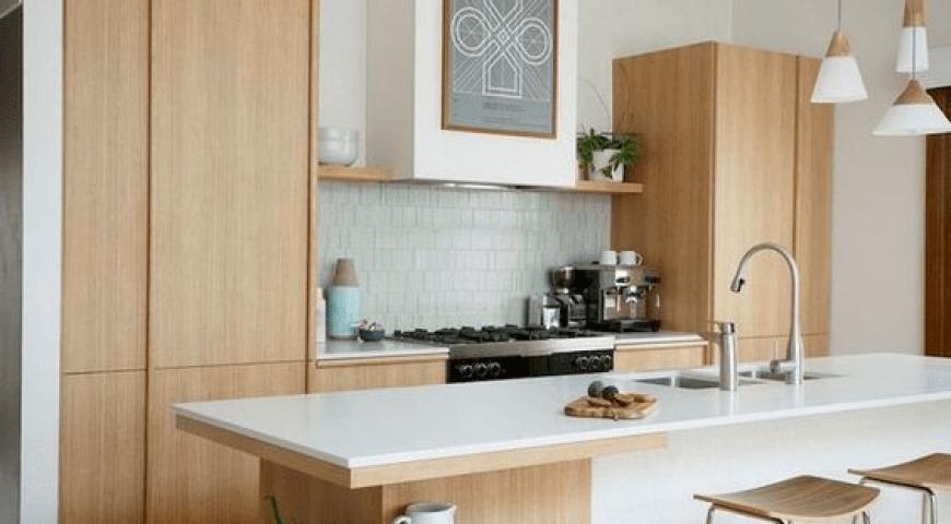 کابینت های مختلف در آشپزخانه