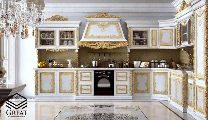 کابینت سلطنتی برای آشپزخانه