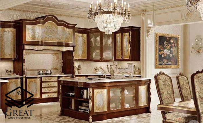 کابینت سلطنتی آشپزخانه
