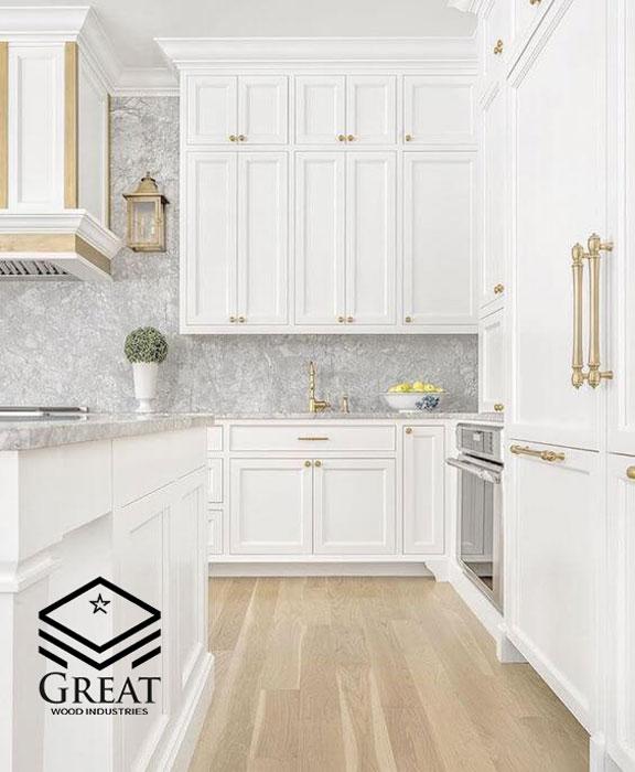 کابینت های آشپزخانه سفید