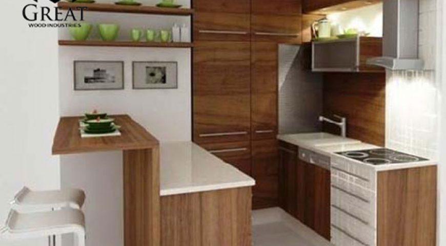 کابینت ساده برای آشپزخانه مدرن