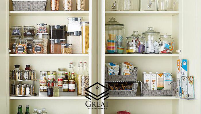 بهترین روش چیدمان کابینت آشپزخانه
