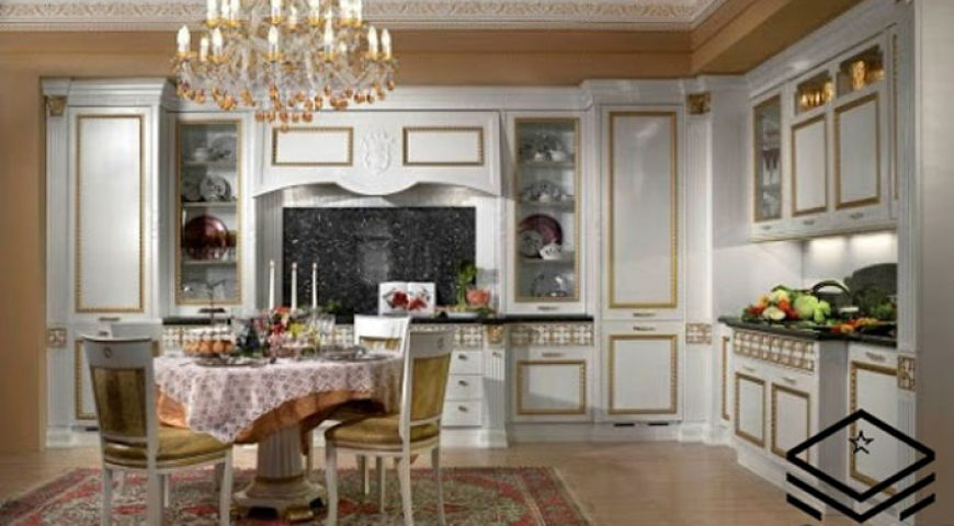 طراحی اشپزخانه کلاسیک (قسمت دوم)