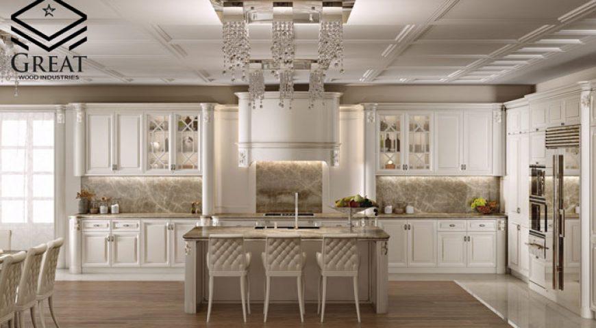 طراحی آشپزخانه کلاسیک (قسمت اول)