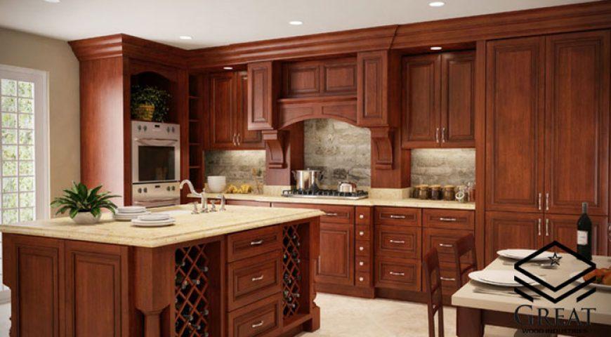 انواع کابینت آشپزخانه کلاسیک