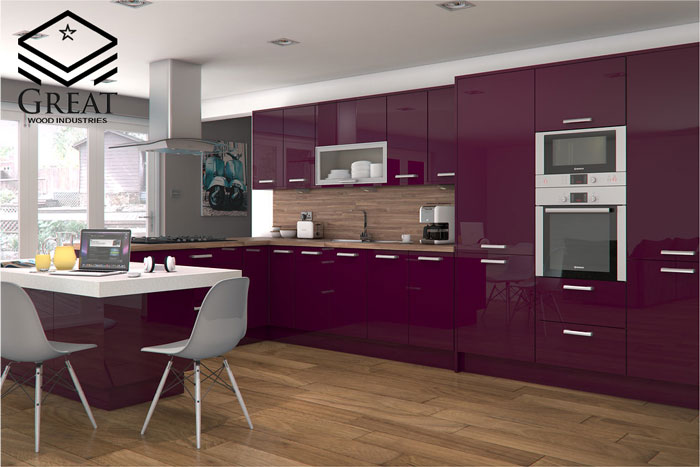 ترکیب رنگ کابینت آشپزخانه هایگلاس (قسمت دوم)