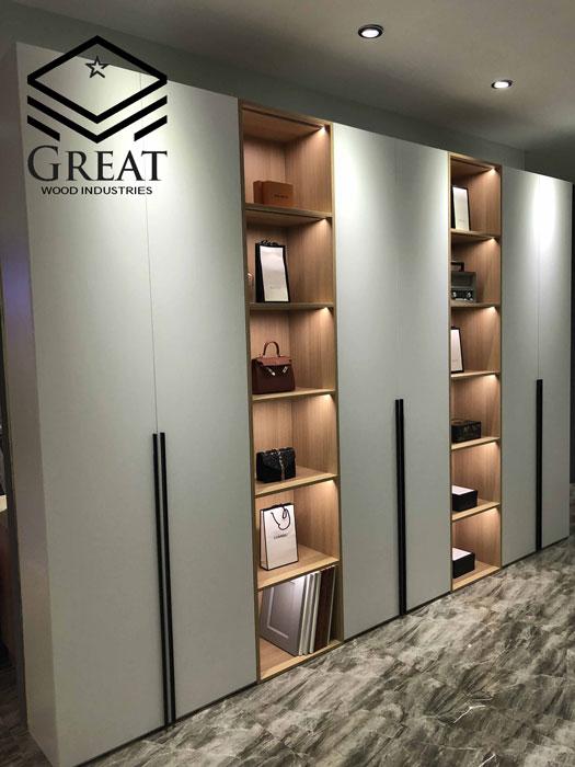 کمد دیواری مناسب برای اتاق های بزرگ و کوچک