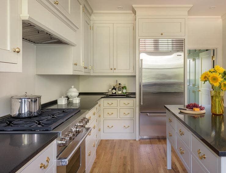 ۲۳ ایده کابینت آشپزخانه خامه ای